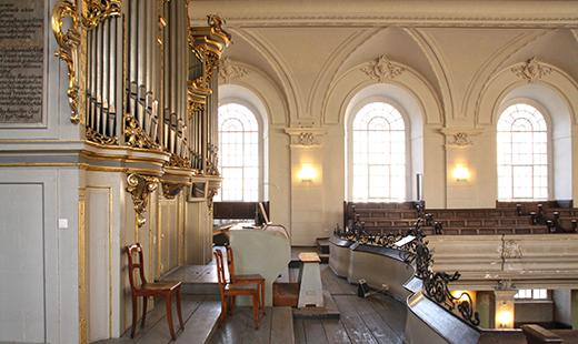 Schuke-Orgel, Foto: Evelyn Schetterer (Architekturbüro Abri + Raabe)