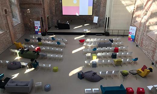 Konferenz Bestuhlung Lounge, St. Elisabeth, 2019 © Kultur Büro Elisabeth