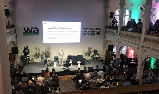 Konferenz, Villa Elisabeth, 2019 © Kultur Büro Elisabeth
