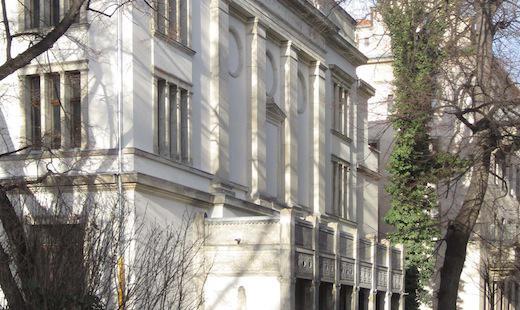 Die Fassade der Villa Elisabeth in neuem Glanz (2012)