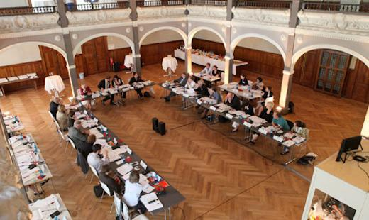 Konferenz des Deutsch-Französischen Jugendwerks, Villa Elisabeth, 2010