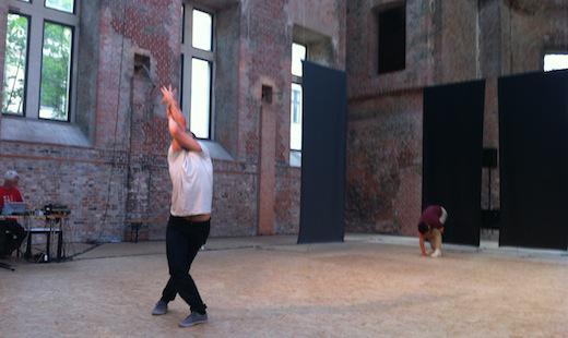 Tanzperformance von Colette Sadler, St. Elisabeth 2013