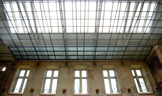 Dach der St. Elisabeth-Kirche