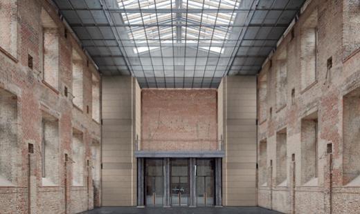 Visulisierung Orgelempore (Baujahr 2011-15)