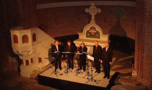 Konzert des Hilliard-Ensembles, 2008
