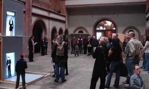 """Ausstellung """"Auf Augenhöhe"""" von Veronika Veit, 2011"""
