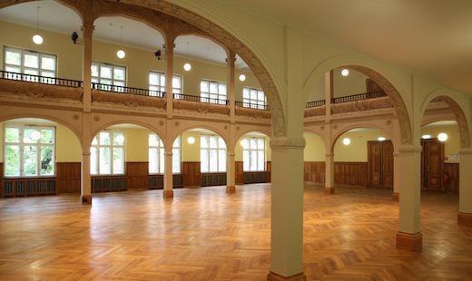Galeriesaal (Foto: Peter Hamel)