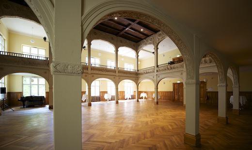 Galeriesaal Villa Elisabeth (Foto: Peter Hamel)