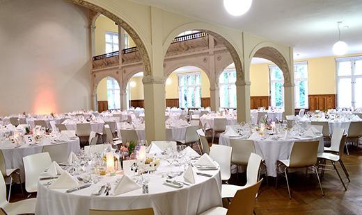 Dinner Galeriesaal, Villa Elisabeth, 2017 © Rita Richter