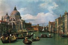 """Canal Grande"" Gemälde von Giovanni Antonio Canal (genannt Canaletto)"