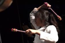 Eunbi Jeong, Schlagzeug (Foto: Barbara Aumüller)